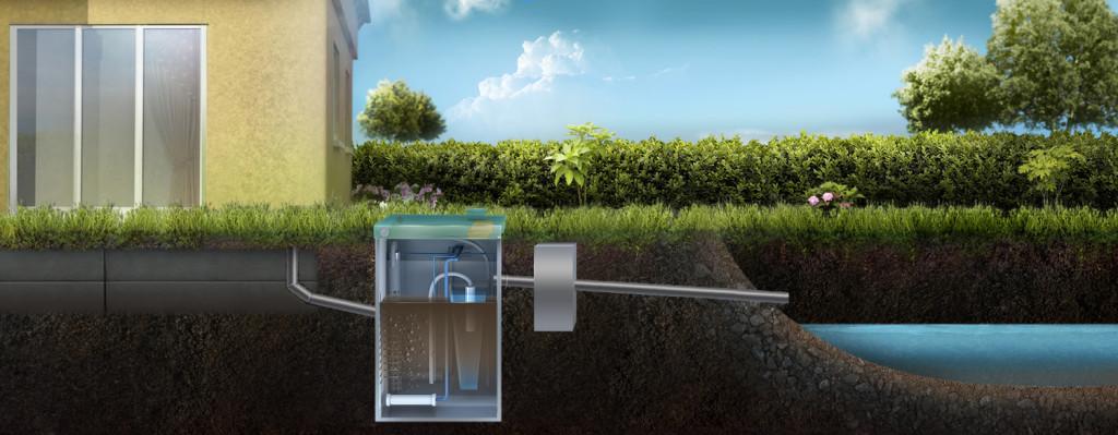Отвод очищенной воды из ТОПАС в водоем